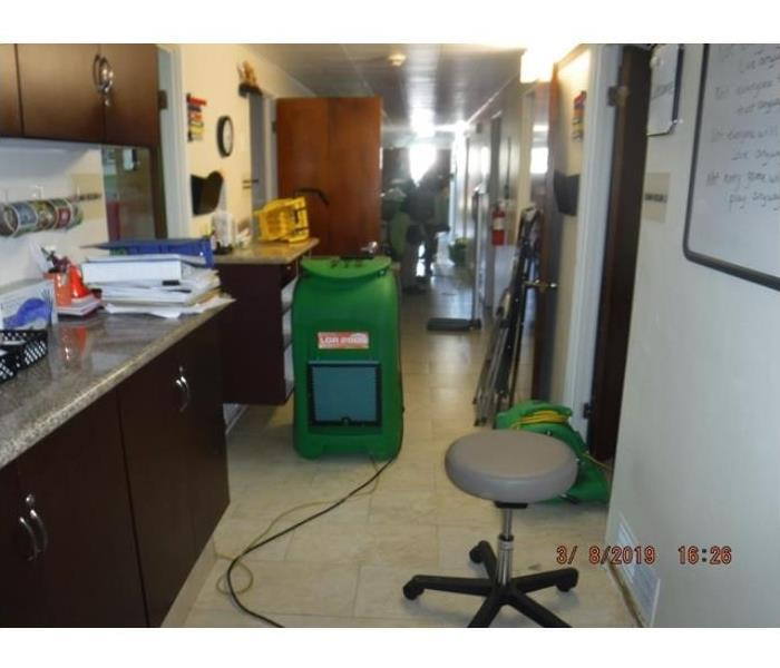 Commercial Water and mold in Shafter, CA