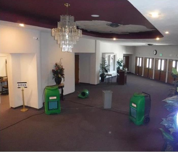 Water Damage Commercial/Church in Bakersfield, CA